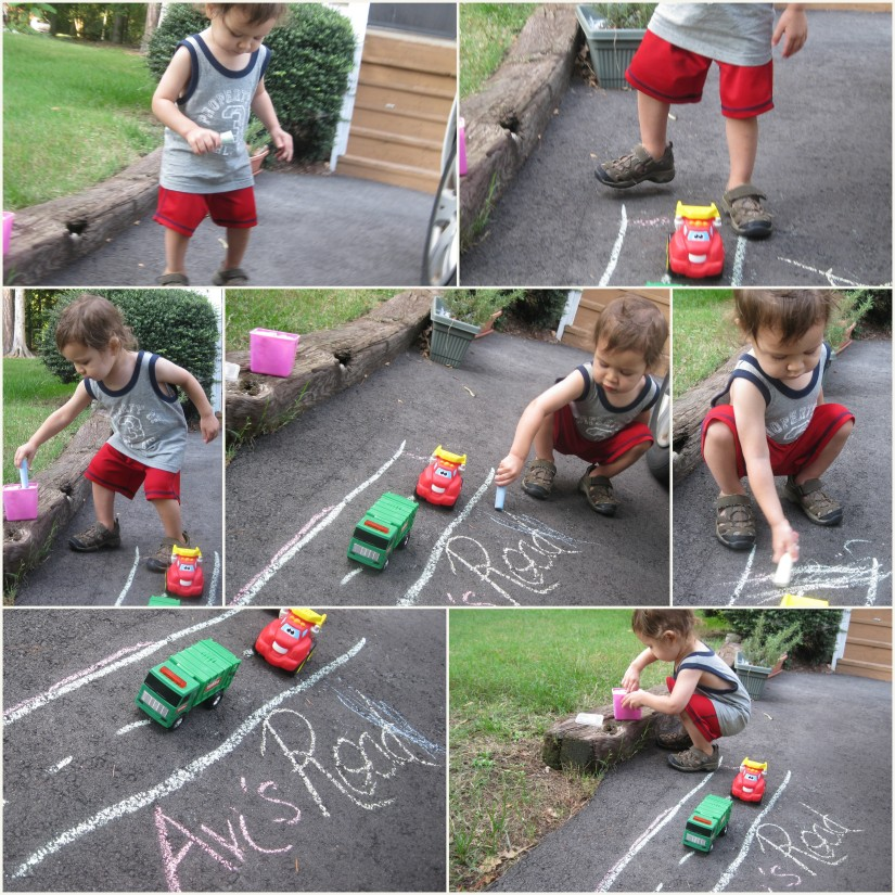 Sidewalk Chalk Play